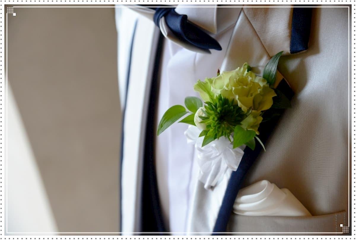 結婚式 タキシード おしゃれ